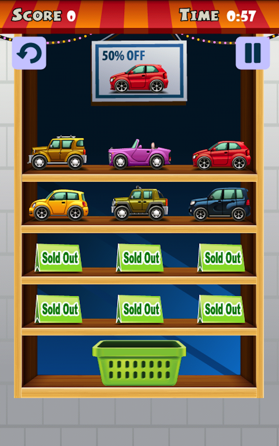 Find My Car (kids puzzle) - screenshot