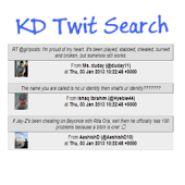 KD Twitter User Search