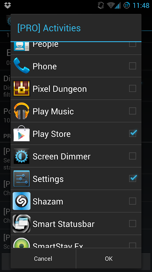 Screen Dimmer- screenshot