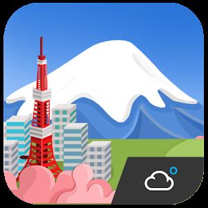 Japan Cute Weather Widget LOGO-APP點子