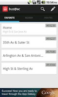 Screenshot of bus@ac