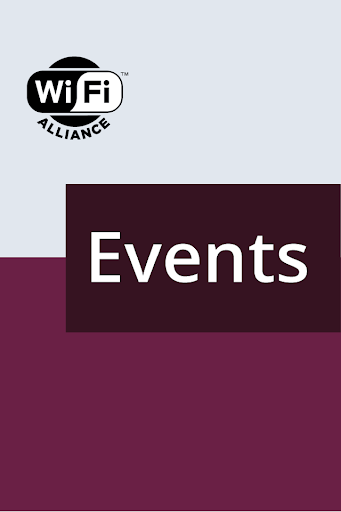Wi-Fi Events Application
