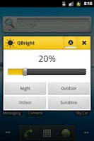 Screenshot of QBright