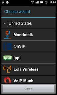 VoIP/SIP Dialer- screenshot thumbnail