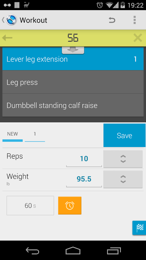 Jucy Workout Gym & Fitness Log- screenshot