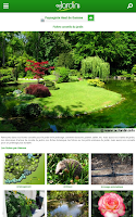 Screenshot of Au Jardin