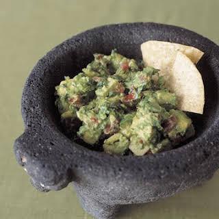 Classic Mexican Guacamole.