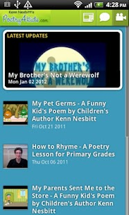 Poetry4kids- screenshot thumbnail