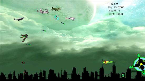 Aircraft Hunter Airplane Games