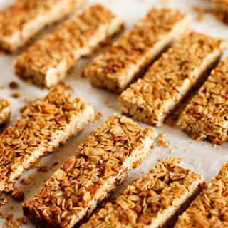 Crunchy Homemade Granola Bars.