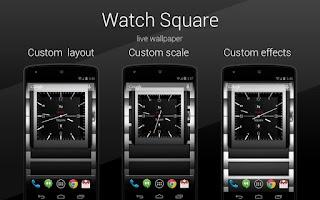 Screenshot of Square Watch PRO