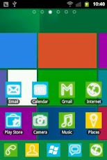 Windows8 GO Launcher EX Theme v1.0 APK Download