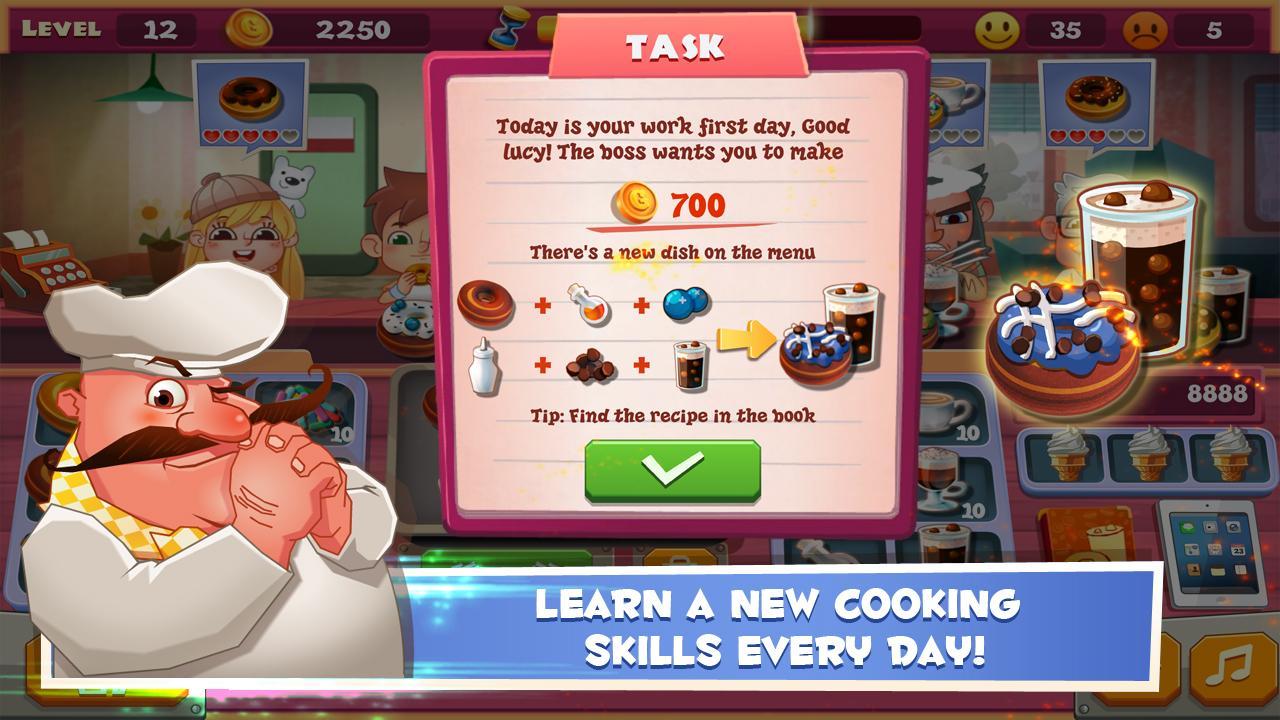 Papas donuteria mobile - Papa S Bakery Donut Maker Screenshot