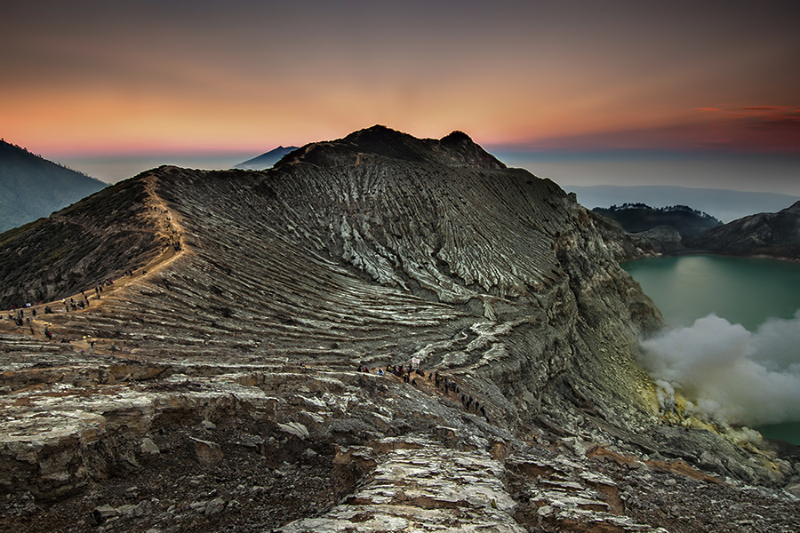 the great Ijen by Andy R Effendi - Landscapes Mountains & Hills ( crater, mountain, indonesia, east java, ijen, sulfur )