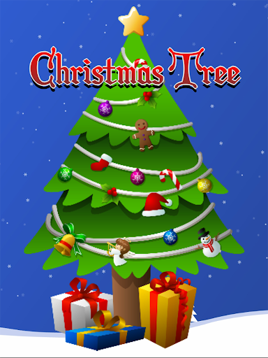 Christmas Tree Game for kids