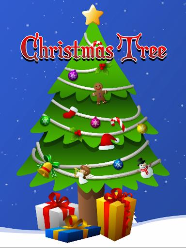 クリスマスツリー(子供のためのゲーム)