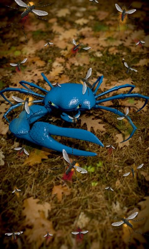 Blue Crab Free live wallpaper- screenshot