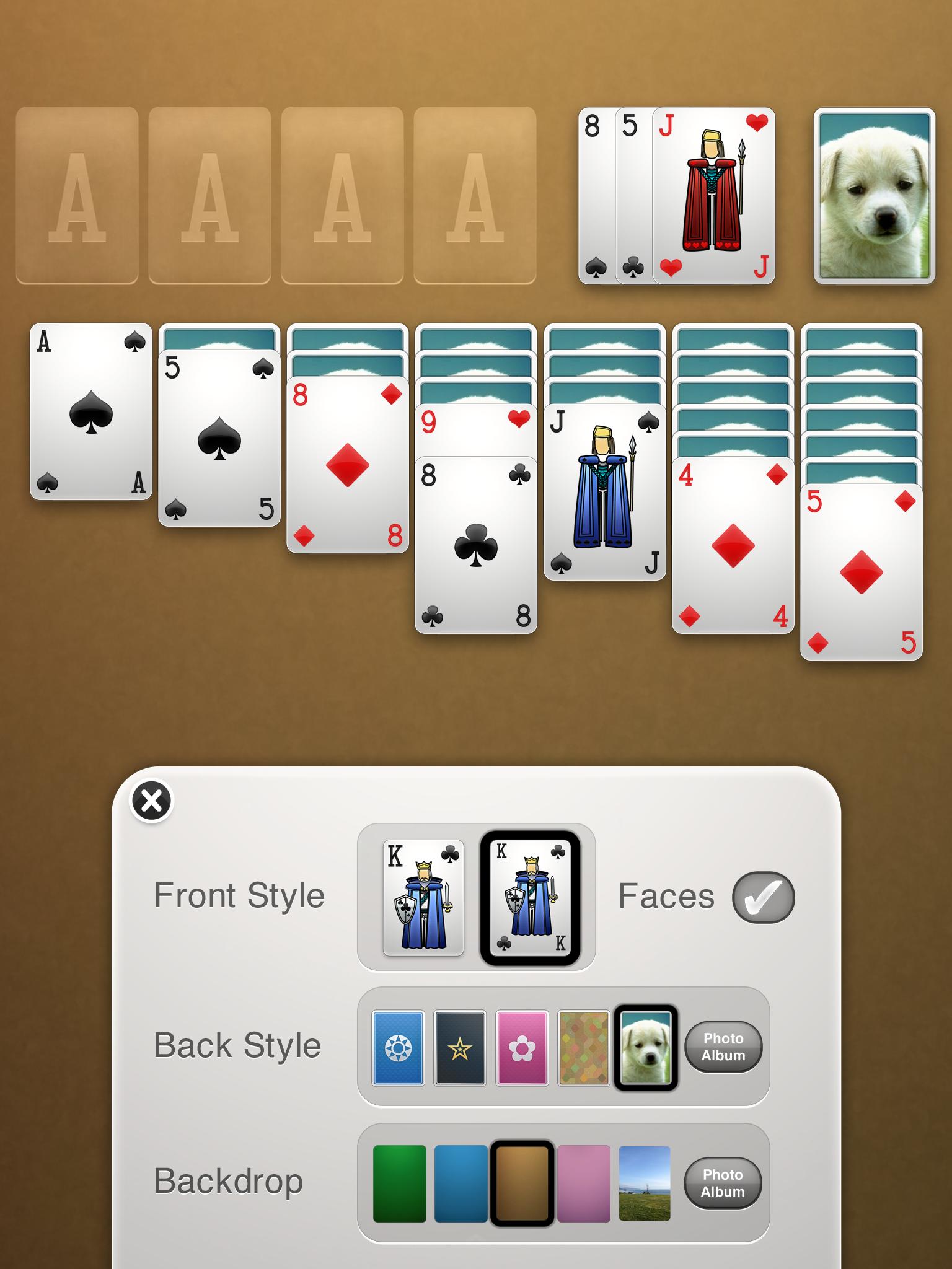 Solitaire screenshot #14