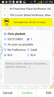 Atlanta Checker Cab- screenshot thumbnail