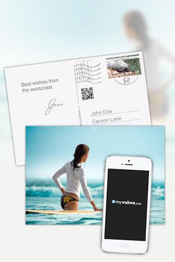 明信片 - 个性化设计,发送到世界各地