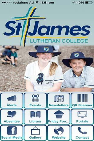 St James Lutheran College- screenshot