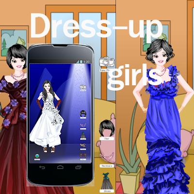 Платье Игры для девочек