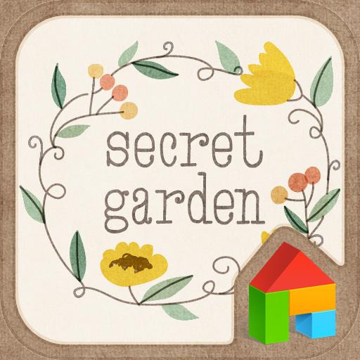 シッ!秘密のお庭ドドルランチャーのテーマ 個人化 App LOGO-硬是要APP