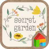 The Secret Garden dodol theme