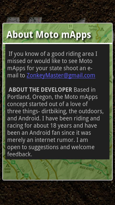 Moto mApps Idaho FREE- screenshot