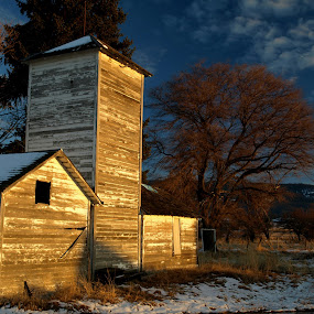 The Old Farmstead by Gary Winterholler - Buildings & Architecture Decaying & Abandoned
