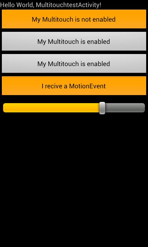 Multitouch for all Views - screenshot