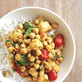 Easy Chickpea Curry.