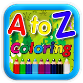 A to Z Coloring Book For Kids