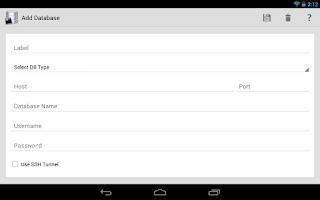 Screenshot of SQLTool Pro Database Editor