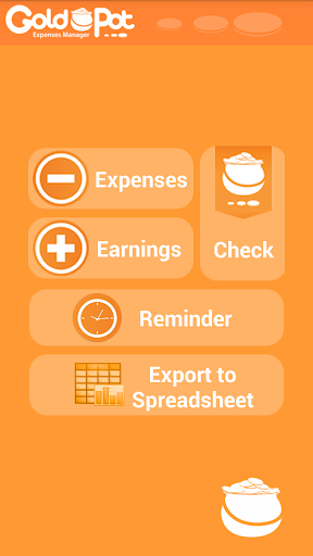 GoldPot - Expense Manager