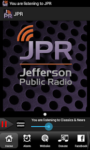 Jefferson Public Radio - screenshot thumbnail