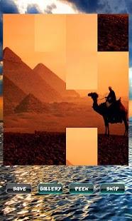 Historická místa Puzzle - náhled