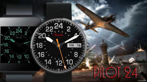 The Pilot 24 HD Wear Face
