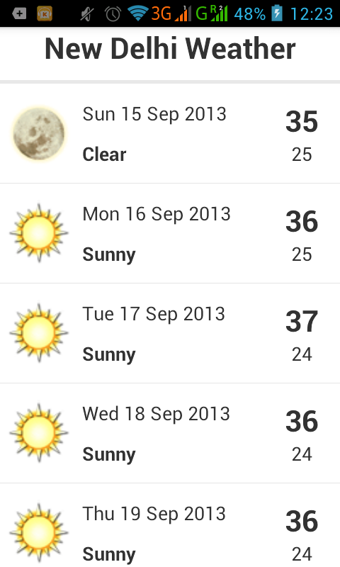 New delhi weather android apps on google play