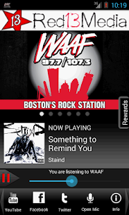 WAAF - Boston's Rock Station- screenshot thumbnail