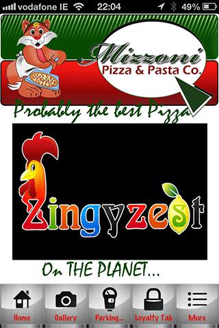 Zingyzest Mizzoni Pizza