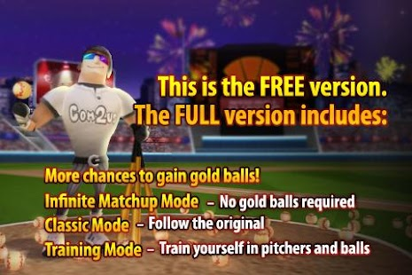 Homerun Battle 3D FREE - screenshot thumbnail