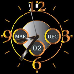 Freeapkdl Luxurious golden watch for ZTE smartphones