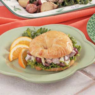 Pork Salad Croissants