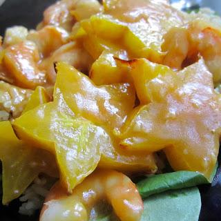 Shrimp & Starfruit Stir-Fry.