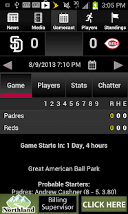 Cincinnati.Com Reds Baseball - screenshot thumbnail