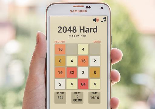 2048 Hardest Puzzle