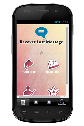 Recover Lost Message Guide
