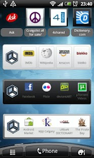 Askeroid Mobile Search Widget - screenshot thumbnail