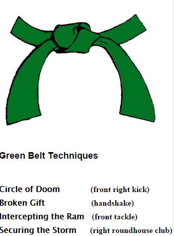 Medina Kenpo Green Belt 15